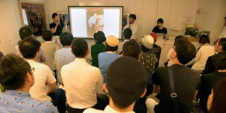 フォトグラファーの瀧本幹也氏とトークショー