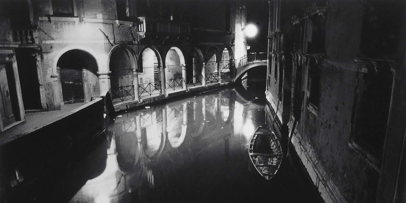 奈良原一高写真展「ヴェネツィアの夜」