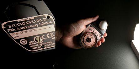 セコニック創⽴70周年記念「L-398A スタジオデラックス70周年限定モデル」